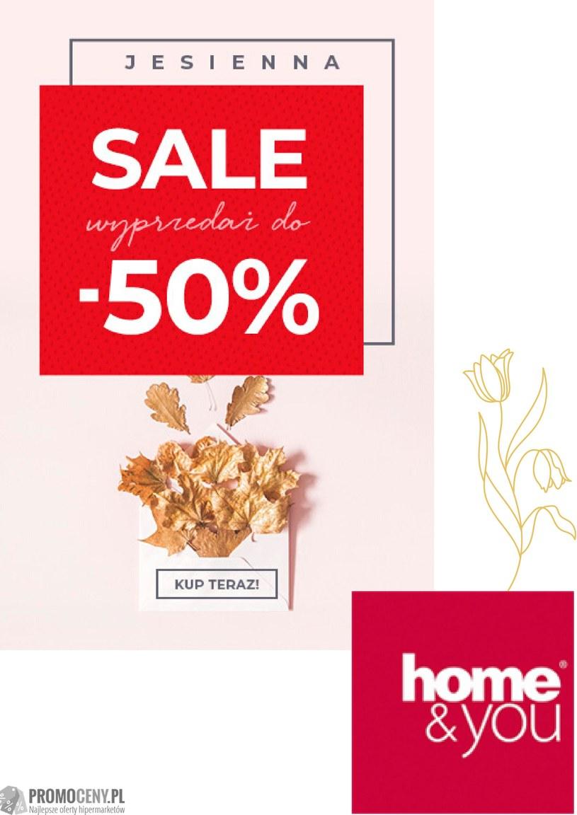 Gazetka promocyjna Home&You - ważna od 18. 10. 2019 do 18. 11. 2019