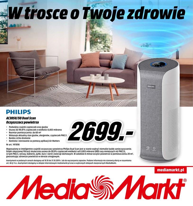 Gazetka promocyjna Media Markt - ważna od 18. 10. 2019 do 31. 10. 2019