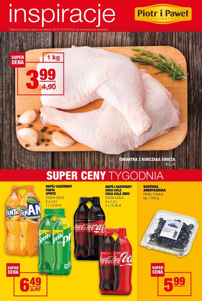 Gazetka promocyjna Piotr i Paweł - ważna od 22. 10. 2019 do 27. 10. 2019