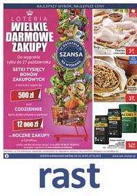 Gazetka promocyjna Rast - Wielkie darmowe zakupy - ważna do 27-10-2019
