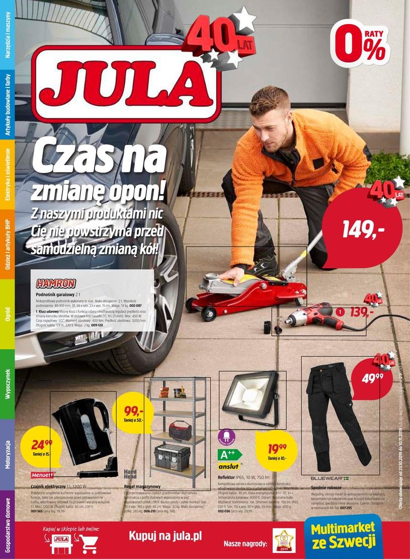 Gazetka promocyjna Jula - wygasła 9 dni temu