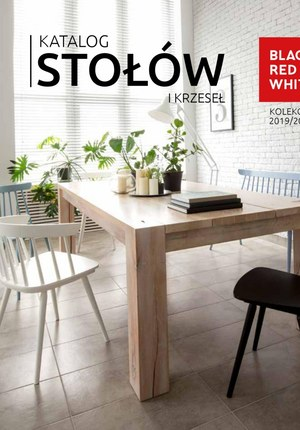 Gazetka promocyjna Black Red White - Katalog stołów i krzeseł