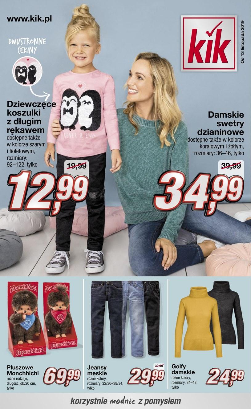 Gazetka promocyjna KIK - ważna od 13. 11. 2019 do 27. 11. 2019