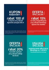 Gazetka promocyjna Komfort - Katalog dywanów 2019/2020