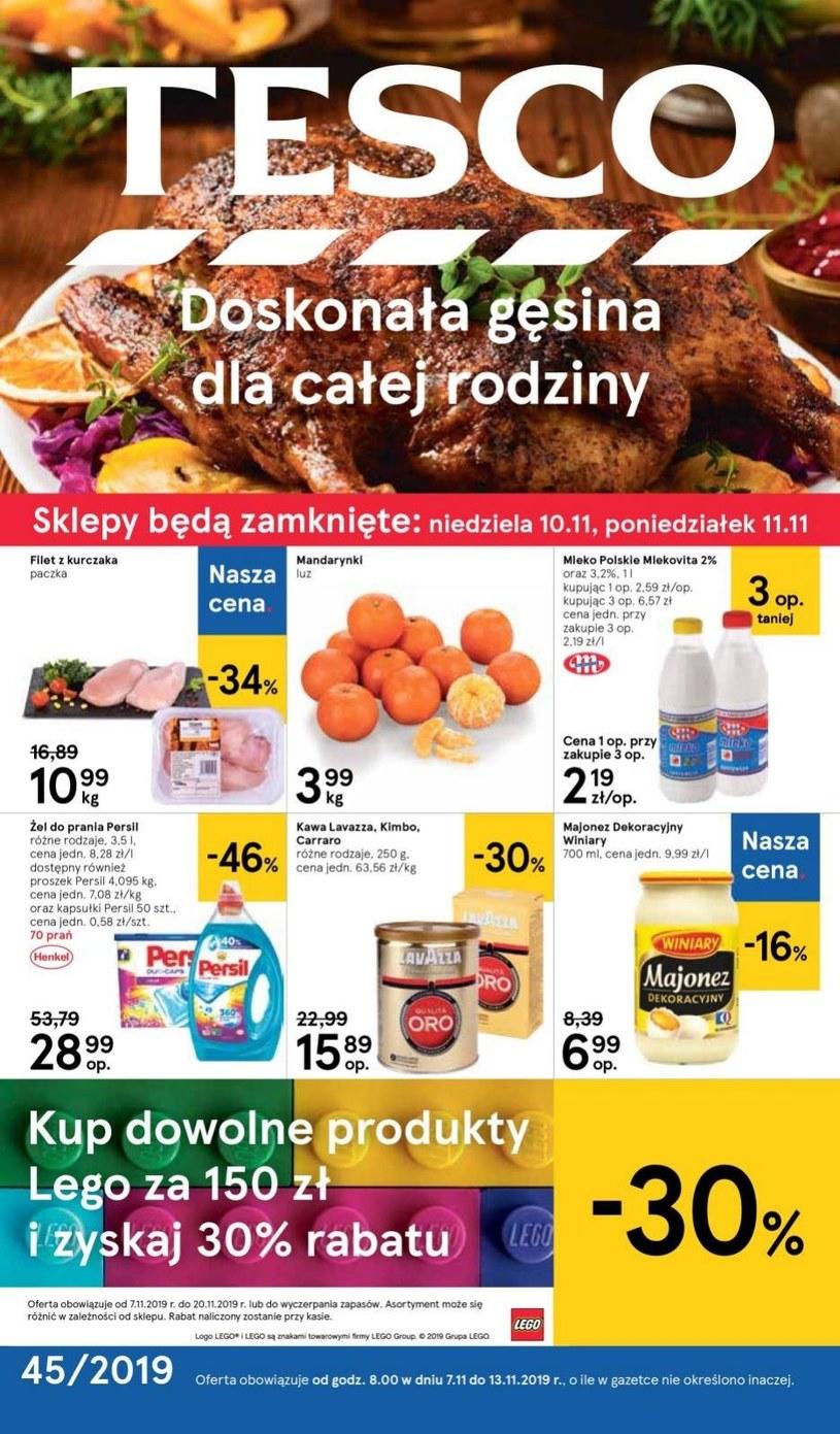 Gazetka promocyjna Tesco Centra Handlowe - ważna od 07. 11. 2019 do 13. 11. 2019
