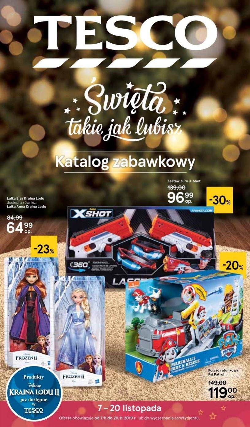 Gazetka promocyjna Tesco Centra Handlowe - ważna od 07. 11. 2019 do 20. 11. 2019