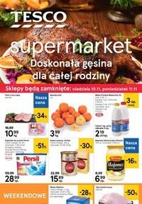 Gazetka promocyjna Tesco Supermarket - Doskonała gęsina - ważna do 13-11-2019
