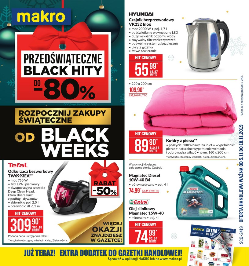 Gazetka promocyjna Makro Cash&Carry - ważna od 05. 11. 2019 do 18. 11. 2019