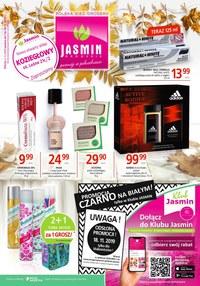 Gazetka promocyjna Jasmin Drogerie - Promocja czarno na białym!  - ważna do 21-11-2019