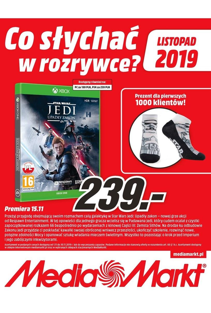Gazetka promocyjna Media Markt - ważna od 01. 11. 2019 do 30. 11. 2019