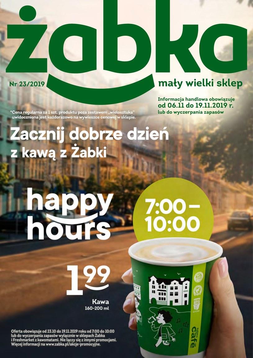 Gazetka promocyjna Żabka - ważna od 06. 11. 2019 do 19. 11. 2019