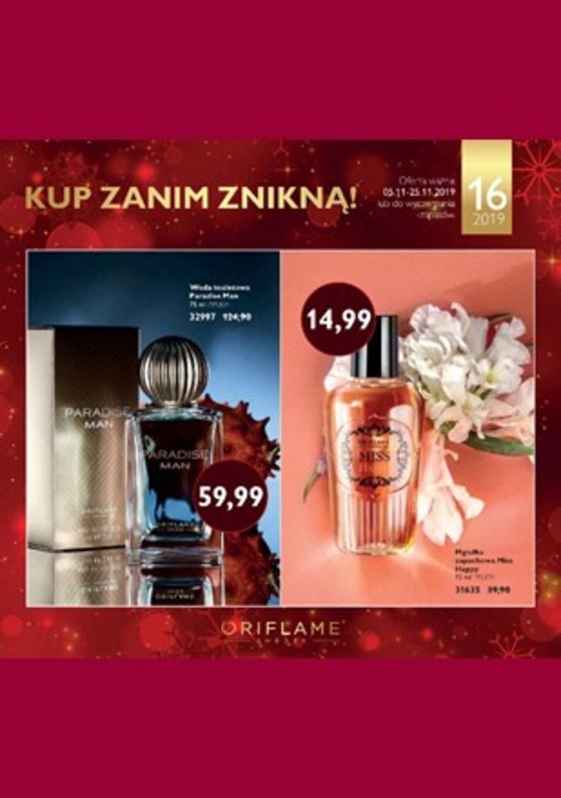 Gazetka promocyjna Oriflame - ważna od 05. 11. 2019 do 25. 11. 2019