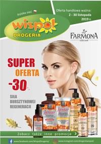 Gazetka promocyjna Drogeria Wispol - Super oferta -30 - ważna do 30-11-2019