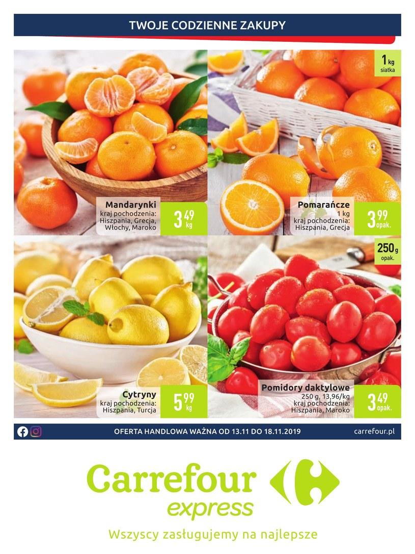 Gazetka promocyjna Carrefour Express - ważna od 13. 11. 2019 do 18. 11. 2019