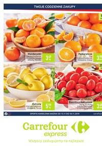 Gazetka promocyjna Carrefour Express - Twoje codzienne zakupy - ważna do 18-11-2019