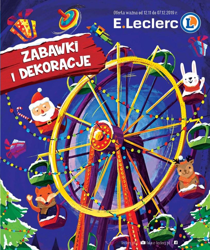 gazetki E.Leclerc