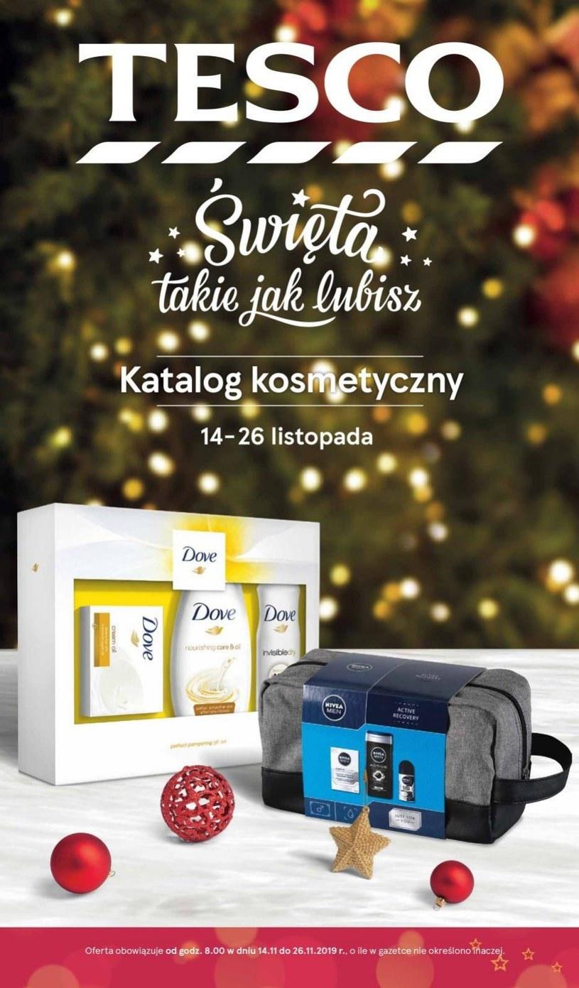 Gazetka promocyjna Tesco Supermarket - ważna od 14. 11. 2019 do 26. 11. 2019