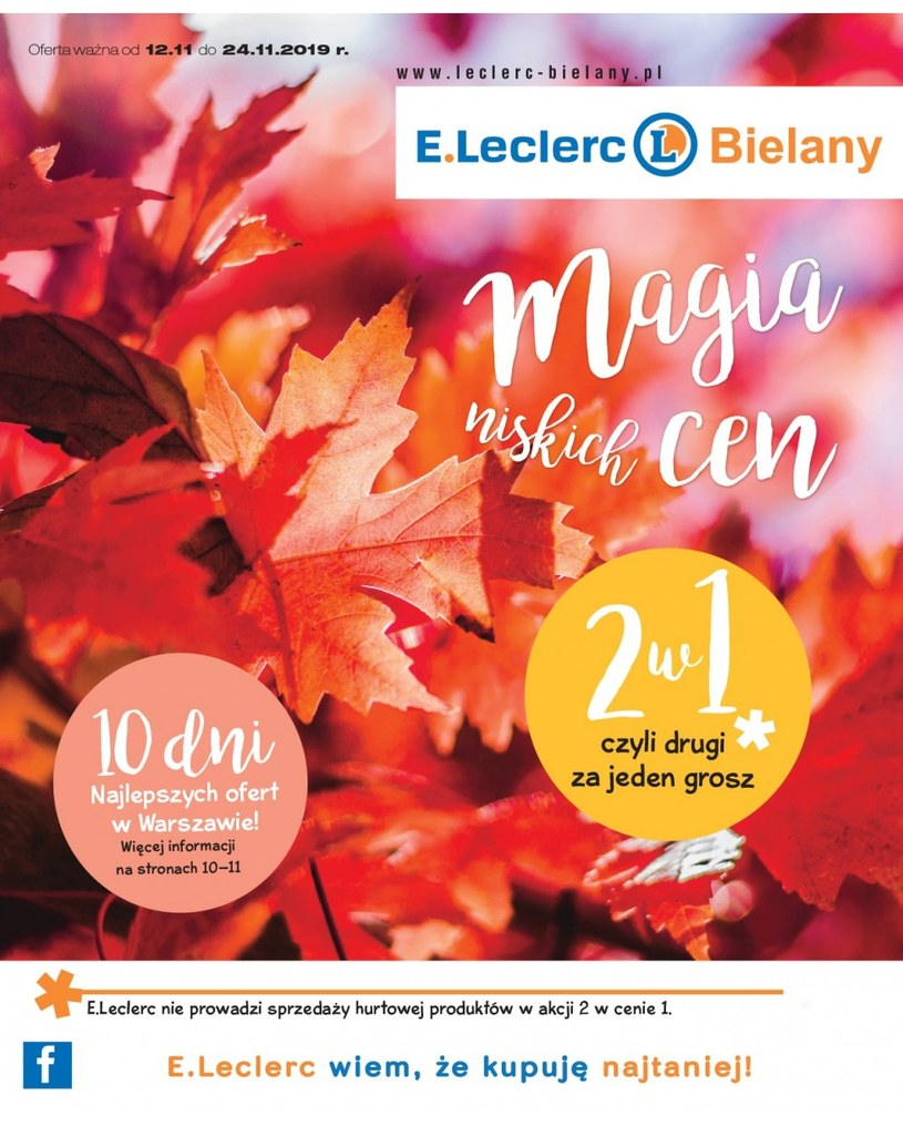 Gazetka promocyjna E.Leclerc - ważna od 12. 11. 2019 do 24. 11. 2019