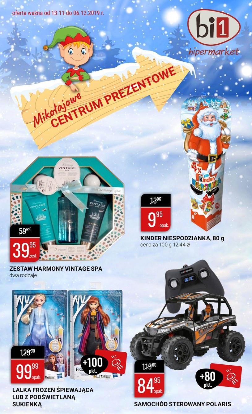 Gazetka promocyjna bi1 - ważna od 13. 11. 2019 do 06. 12. 2019