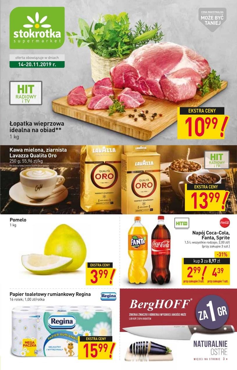 Gazetka promocyjna Stokrotka Supermarket - ważna od 14. 11. 2019 do 20. 11. 2019