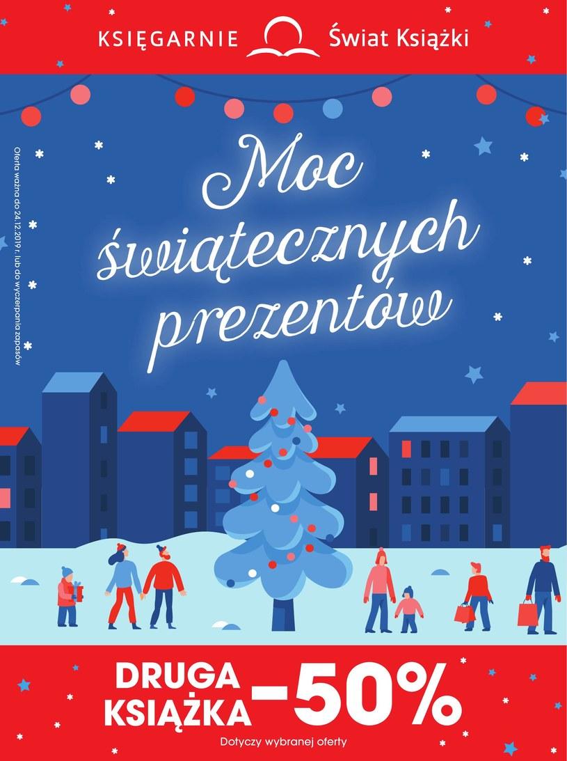 Gazetka promocyjna Księgarnie Świat Książki - ważna od 13. 11. 2019 do 24. 12. 2019