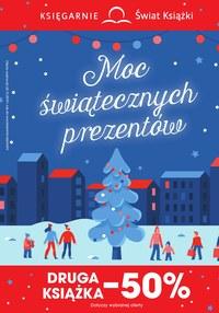 Gazetka promocyjna Księgarnie Świat Książki - Moc świątecznych prezentów  - ważna do 24-12-2019