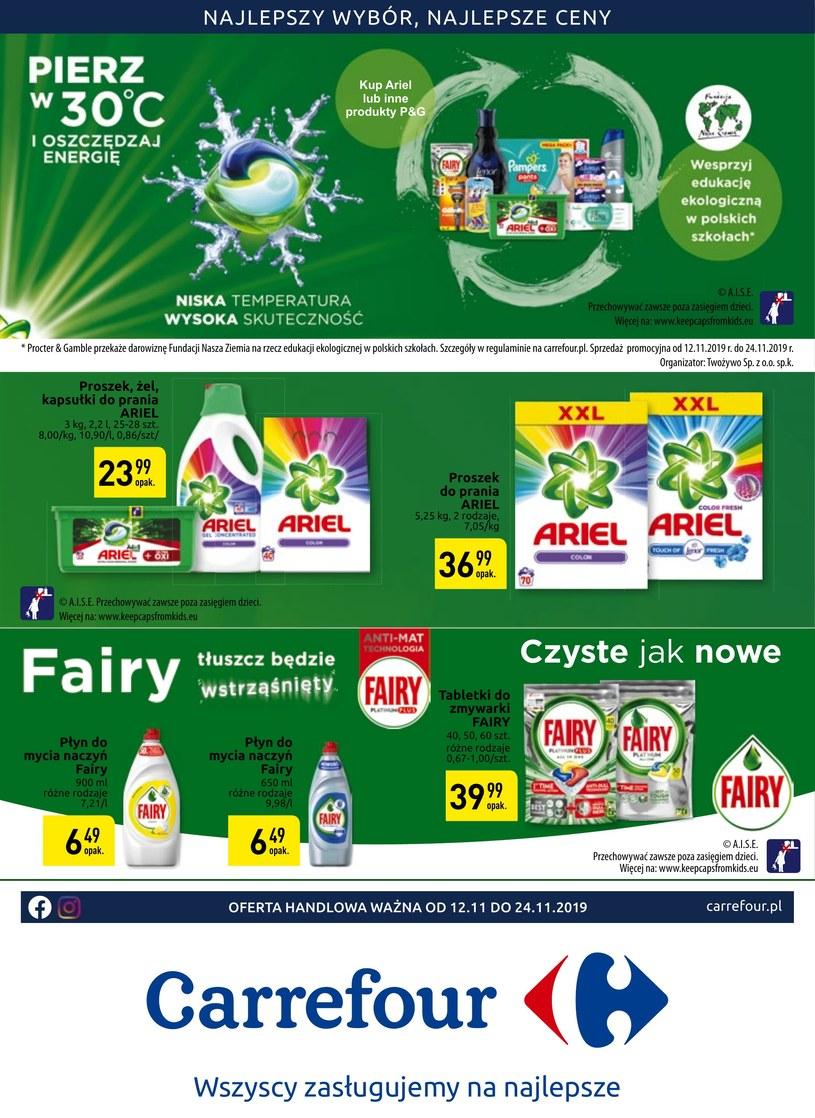 Gazetka promocyjna Carrefour - ważna od 12. 11. 2019 do 24. 11. 2019