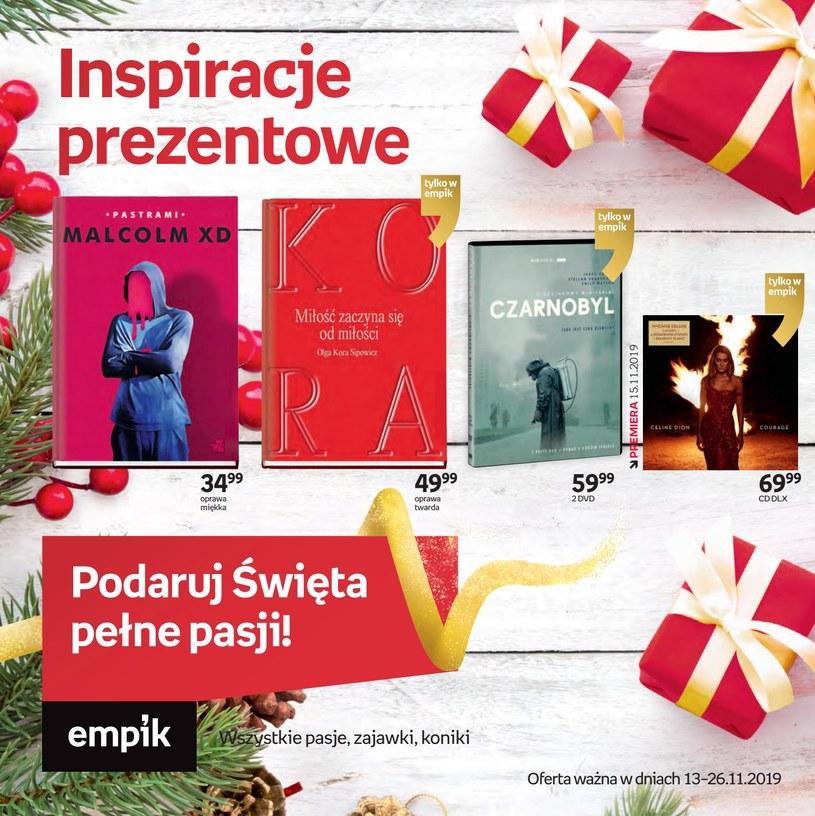 Gazetka promocyjna EMPiK - ważna od 13. 11. 2019 do 26. 11. 2019