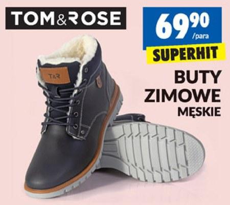 Buty Zimowe Meskie Tom Rose Promocja Biedronka Ding Pl