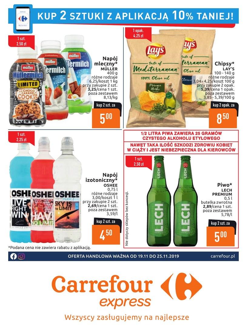 Gazetka promocyjna Carrefour Express - ważna od 19. 11. 2019 do 25. 11. 2019