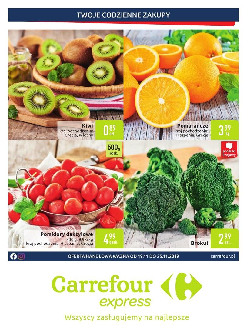 Carrefour Express: 7 gazetki