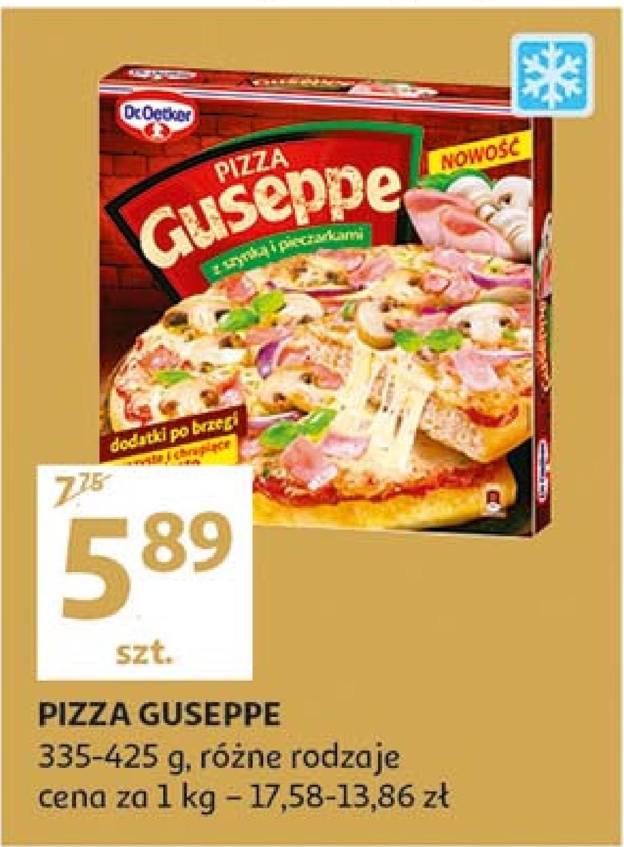 Pizza Guseppe  niska cena