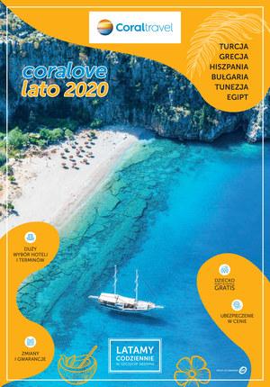Gazetka promocyjna Coral Travel  - Coralove Lato 2020