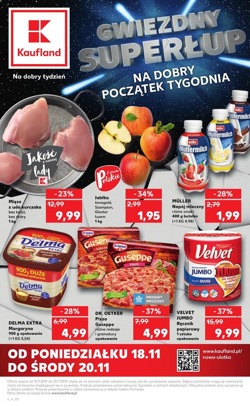 Gazetka promocyjna Kaufland - ważna od 18. 11. 2019 do 20. 11. 2019