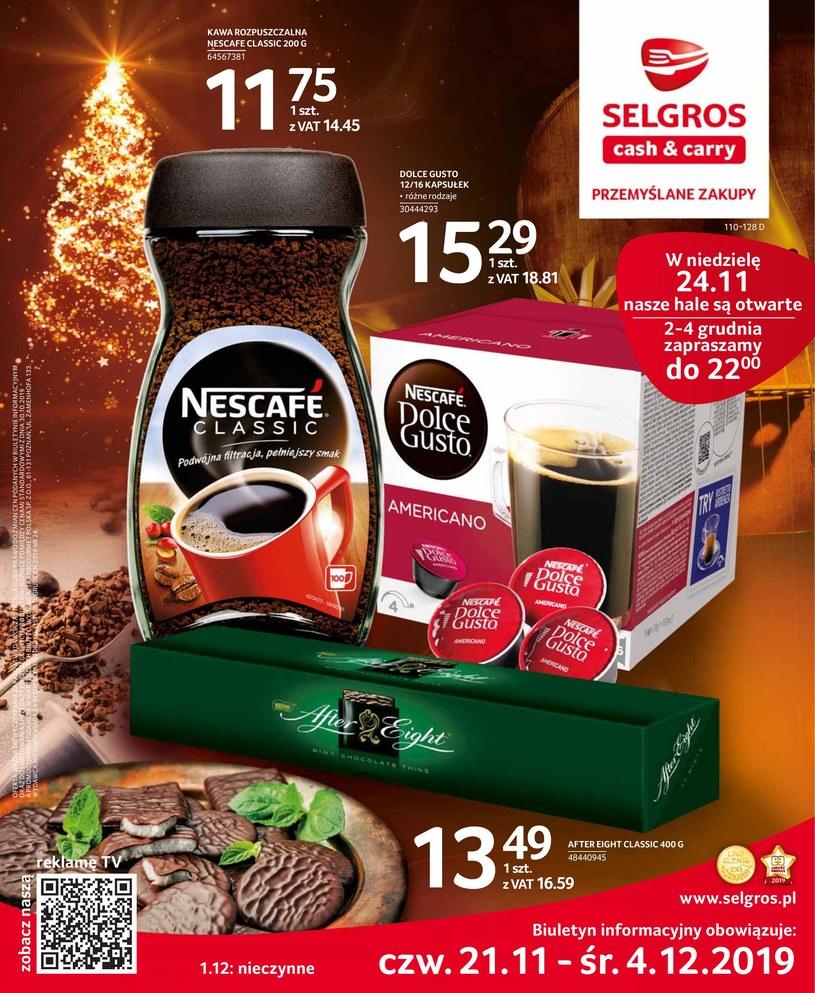 Gazetka promocyjna Selgros Cash&Carry - ważna od 21. 11. 2019 do 04. 12. 2019