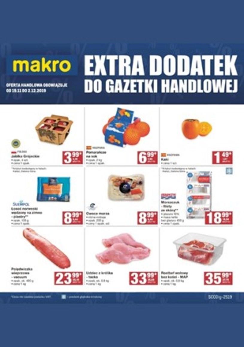 Gazetka promocyjna Makro Cash&Carry - ważna od 19. 11. 2019 do 02. 12. 2019