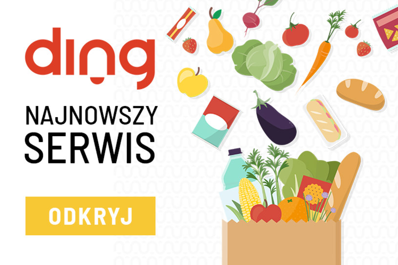 Skorzystaj z promocji z Ding.pl