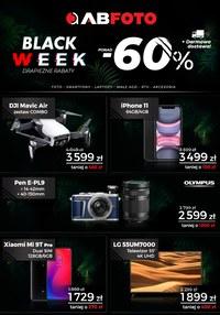 Gazetka promocyjna AB Foto - Black week - ważna do 30-11-2019