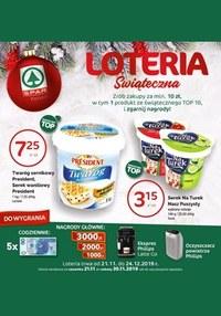 Gazetka promocyjna SPAR - Loteria świąteczna - ważna do 24-12-2019