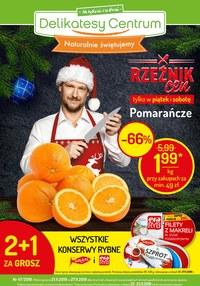 Gazetka promocyjna Delikatesy Centrum - Naturalnie świętujemy  - ważna do 27-11-2019