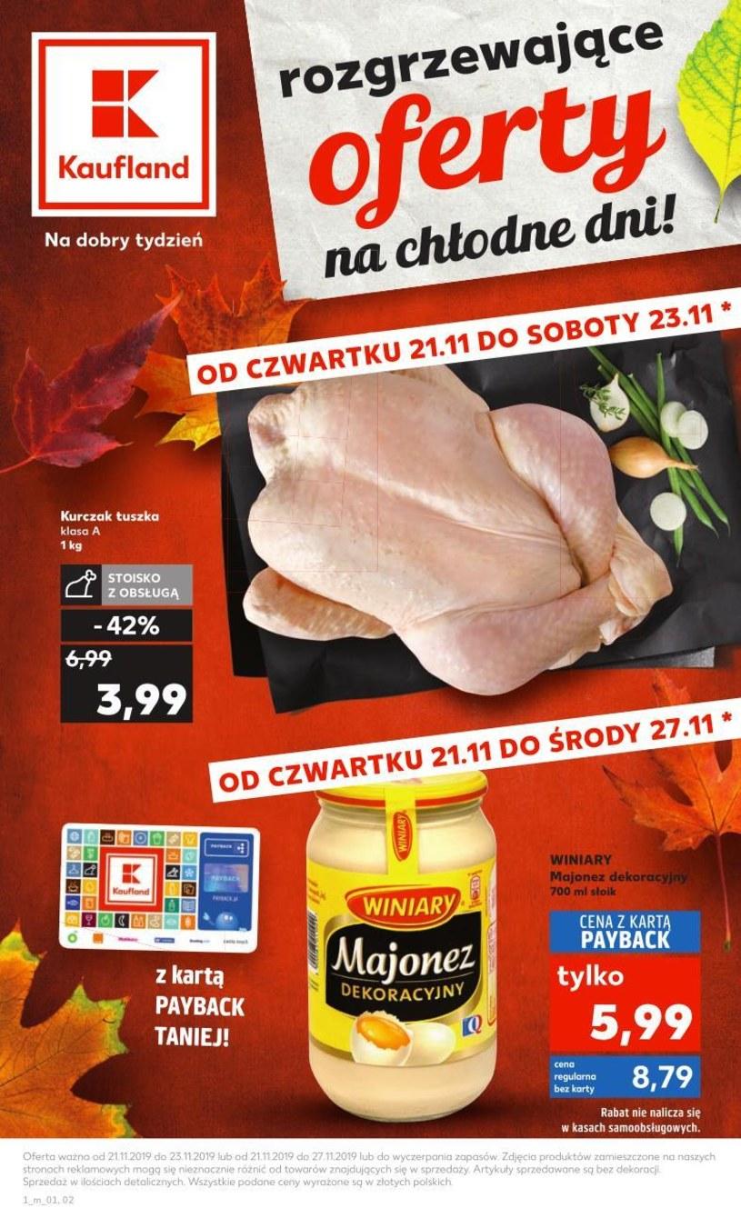 Gazetka promocyjna Kaufland - ważna od 21. 11. 2019 do 23. 11. 2019