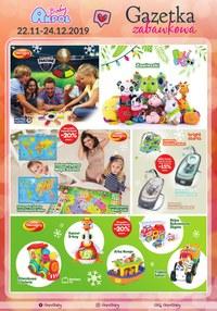 Gazetka promocyjna Akpol Baby - Gazetka zabawkowa - ważna do 24-12-2019