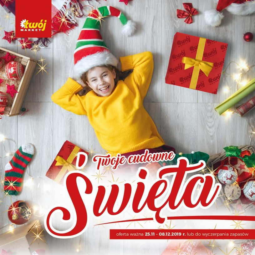 Gazetka promocyjna Twój Market - ważna od 25. 11. 2019 do 08. 12. 2019