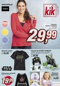 Gazetka promocyjna KIK - Świąteczna moda - ważna do 31-12-2019