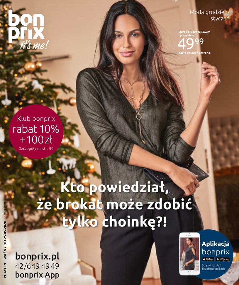 Gazetka promocyjna BonPrix - ważna od 27. 11. 2019 do 25. 05. 2020