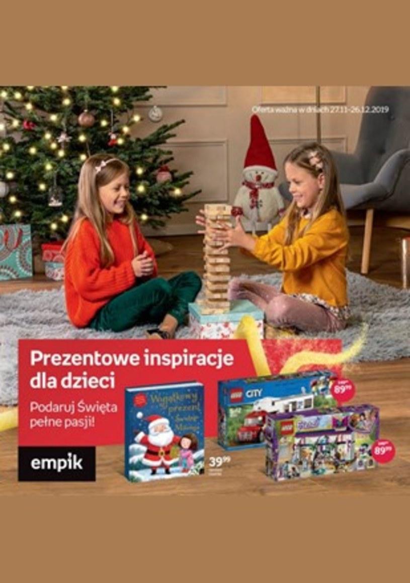 Gazetka promocyjna EMPiK - ważna od 27. 11. 2019 do 26. 12. 2019