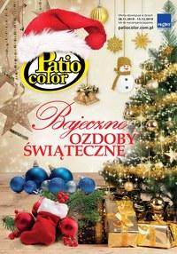 Gazetka promocyjna Patio Color - Bajeczne ozdoby świąteczne - ważna do 15-12-2019