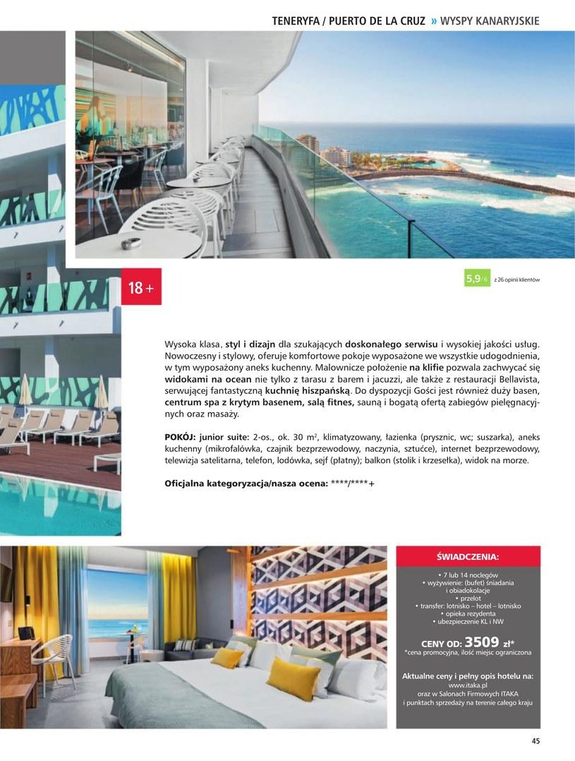 Gazetka: Hotele dla dorosłych - strona 47
