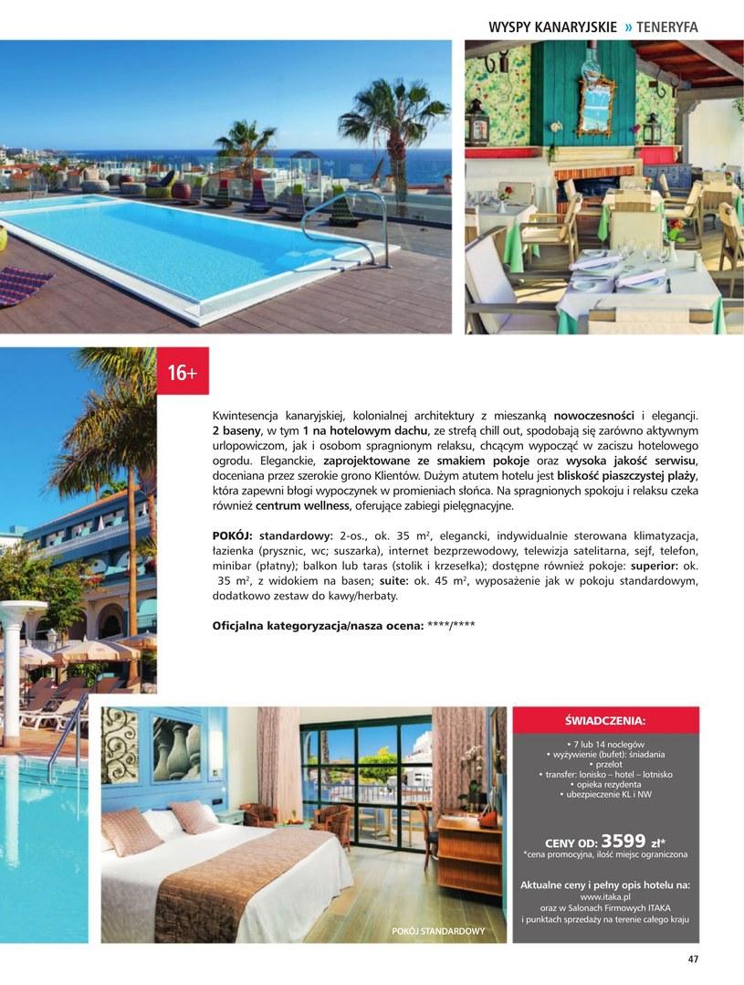Gazetka: Hotele dla dorosłych - strona 49
