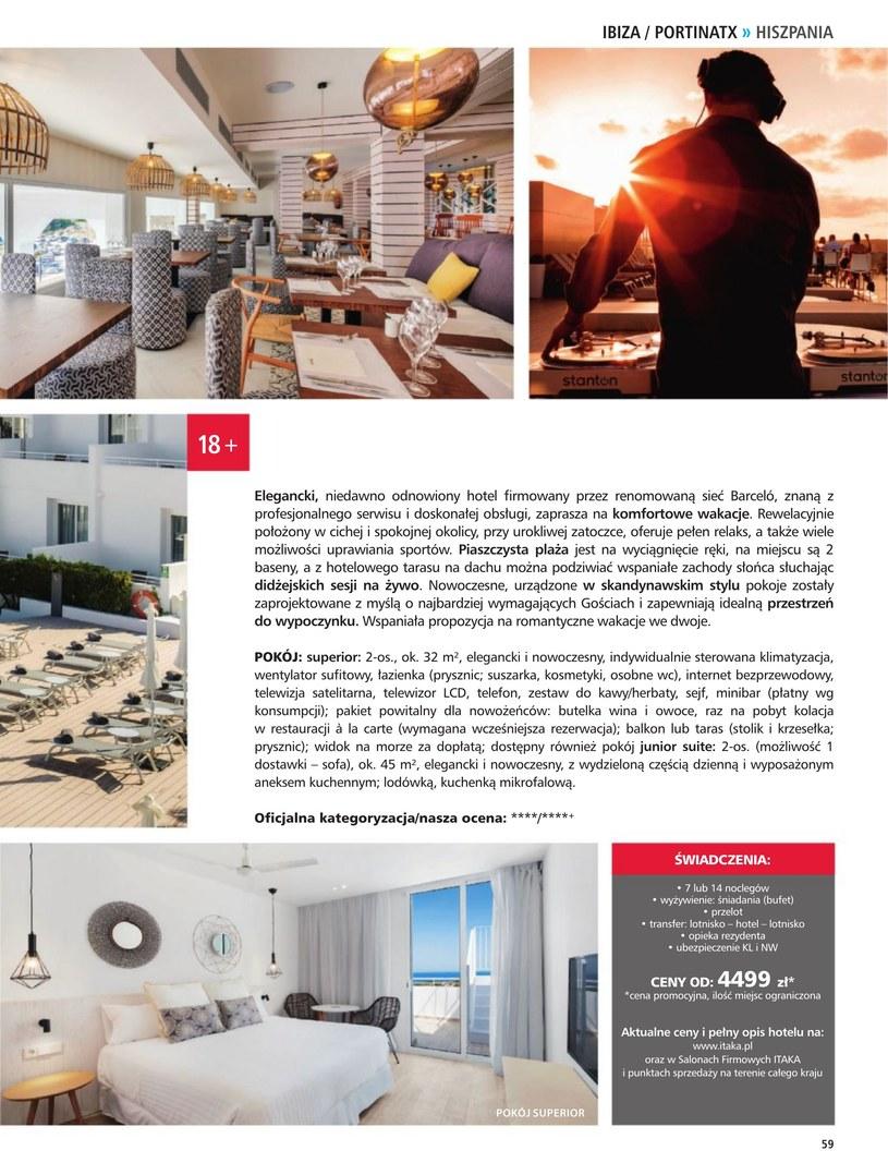 Gazetka: Hotele dla dorosłych - strona 61